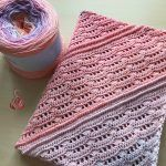 Diona Shawl Free Crochet Pattern