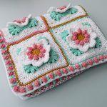 Girl Blanket Free Crochet Pattern2