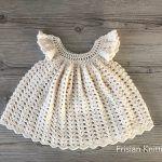Girls Dress Brigitte Free Crochet Pattern2