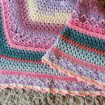 Kat's no 3 Blanket Free Crochet Pattern
