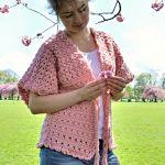 Lace Kimono Cardigan Free Crochet Pattern2