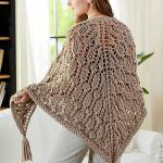 Spider Lace Shawl Free Crochet Pattern