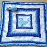Jonah Whale Blanket Free Crochet Pattern