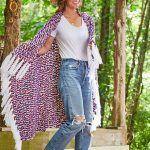 Americana Fringe Blanket Free Crochet Pattern2