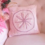 Joy's Starburst Cushion Free Crochet Pattern2