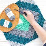 Quilt Block Pillow Free Crochet Pattern2