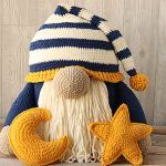 Large Sleepy Time Gnome Free Crochet Pattern