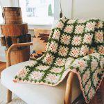 Perham Afghan Blanket Free Crochet Pattern