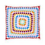 Striped Rounds Pillow Free Crochet Pattern2