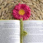 Summer Flower Bookmark Free Crochet Pattern