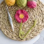 Summer Flower Bookmark Free Crochet Pattern2