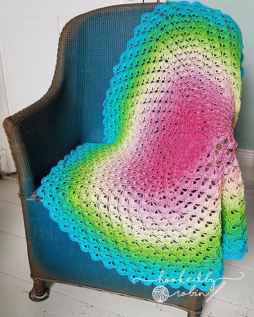 Lotus Flower Blanket Free Crochet Pattern Dailycrochetideas