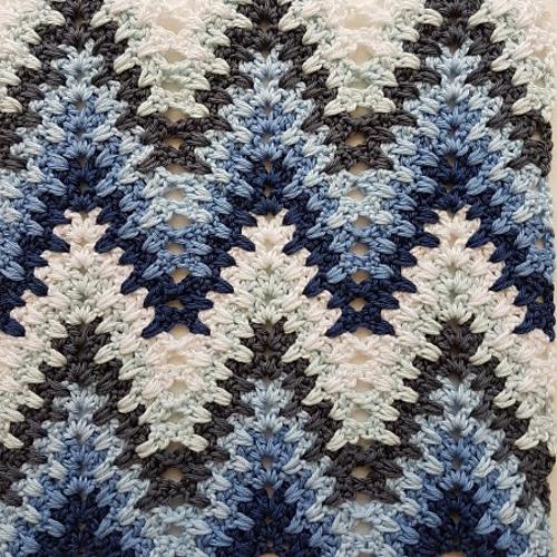 Heartbeat Ripple Blanket Free Crochet Pattern Dailycrochetideas