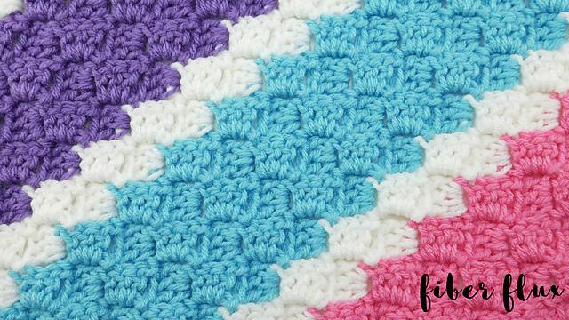 Springy Stripes C2c Blanket Free Crochet Pattern