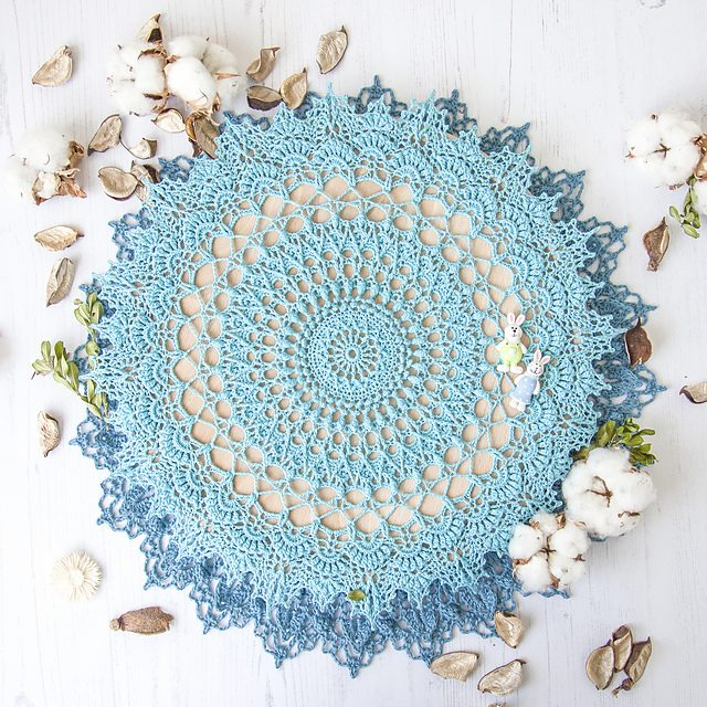 Agnes Doily Free Crochet Pattern Dailycrochetideas