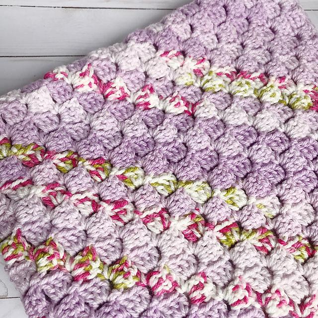 C2C Baby Blanket Free Crochet Pattern | DailyCrochetIdeas