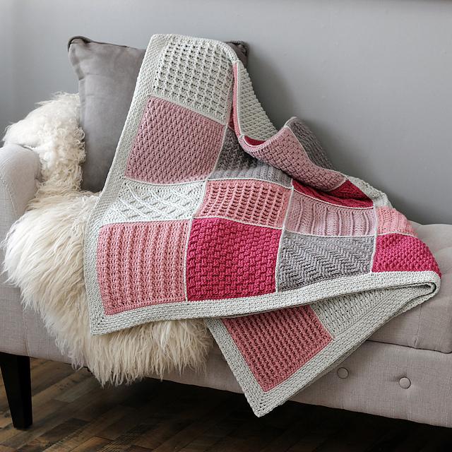 Cosy Afghans Blanket Free Crochet Pattern Dailycrochetideas