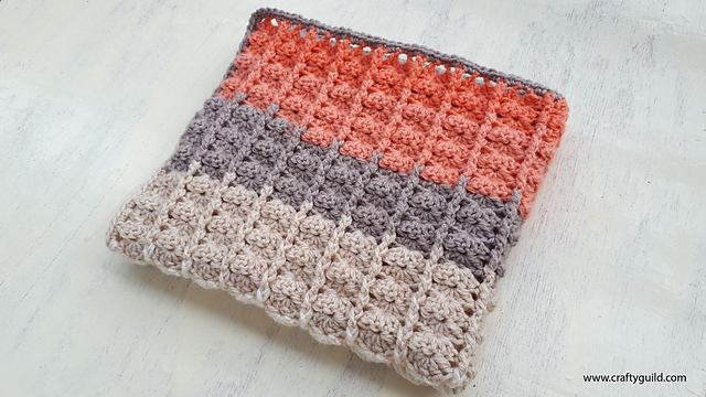 Caron Cake Baby Blanket Free Crochet Pattern Dailycrochetideas