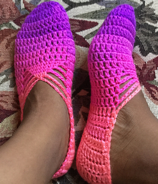 Sunday Ballet Slippers Free Crochet Pattern Dailycrochetideas