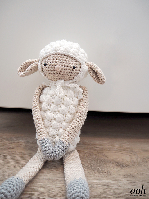 Matilda The Sheep Free Crochet Pattern Dailycrochetideas