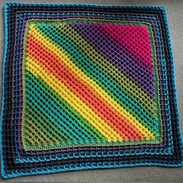 Waffle Stitch Blanket Free Crochet Pattern Dailycrochetideas
