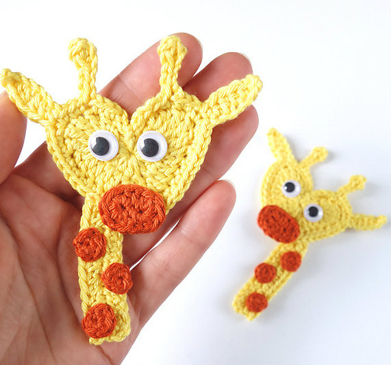 Cute Crochet Giraffe Amigurumi Free Pattern - DIY 4 EVER | 533x571