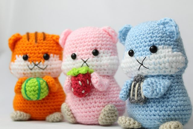 20 Free Amigurumi Patterns to Melt Your Heart | 427x640