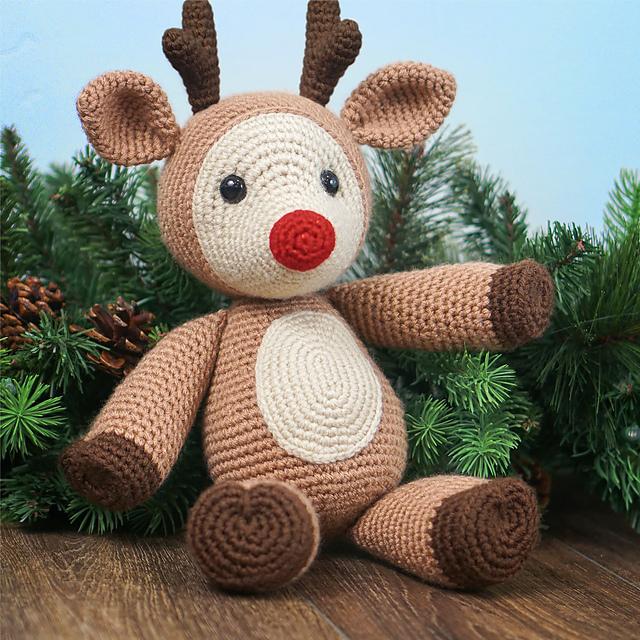 Deer Amigurumi, Ms. DuDu - Free Crochet Pattern | Craft Passion | 640x640