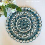 Cupcake Mandala Free Crochet Pattern