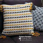 Litrik Pillow Free Crochet Pattern