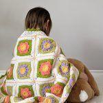 April Flowers Baby Blanket Free Crochet Pattern2
