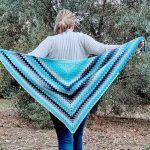 Aquamarine Joy Shawl Free Crochet Pattern2