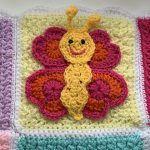 Bella the Butterfly Free Crochet Pattern