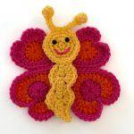 Bella the Butterfly Free Crochet Pattern2