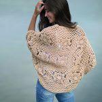 Bolero Barcelona Free Crochet Pattern2