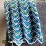 Cascade Blanket Free Crochet Pattern
