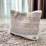 Cotton Candy Tote Bag Free Crochet Pattern