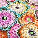 Early Spring Blossom Square Free Crochet Pattern