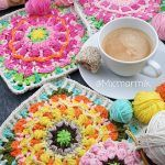 Early Spring Blossom Square Free Crochet Pattern2