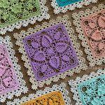 Easter Egg Square Free Crochet Pattern