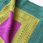 Ferne Granny Square Blanket Free Crochet Pattern