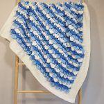 Frozen Hearts Baby Blanket Free Crochet Pattern2