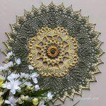 Grace of God Doily Free Crochet Pattern