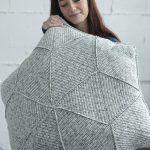 Hourglass Floor Pillow Free Crochet Pattern
