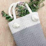 Modern Bag Free Crochet Pattern