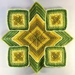 Primrose Garden Blanket Free Crochet Pattern