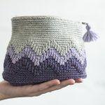 Reflection Pouch Free Crochet Pattern2