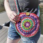 Roxy Retro Circle Bag Free Crochet Pattern2