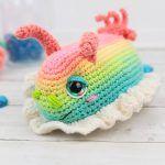 Sea Slug Free Crochet Pattern