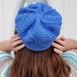 Twisted Newsboy Hat Free Crochet Pattern2